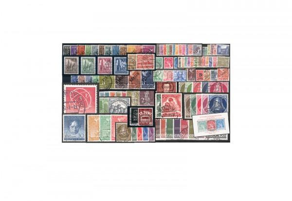 Berlin Jahrgänge 1948 bis 1959 Sparpaket komplett Michel Nr. 1 bis 190 gestempelt
