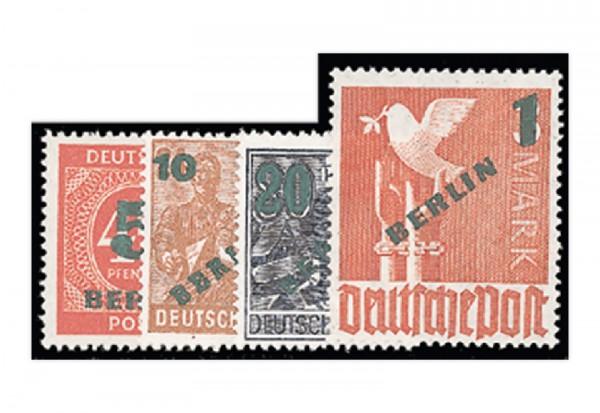 Berlin Frühausgaben Mi.Nr. 64/67 postfrisch