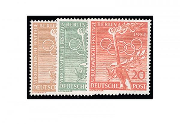 Berlin Frühausgaben Mi.Nr. 88/90 postfrisch