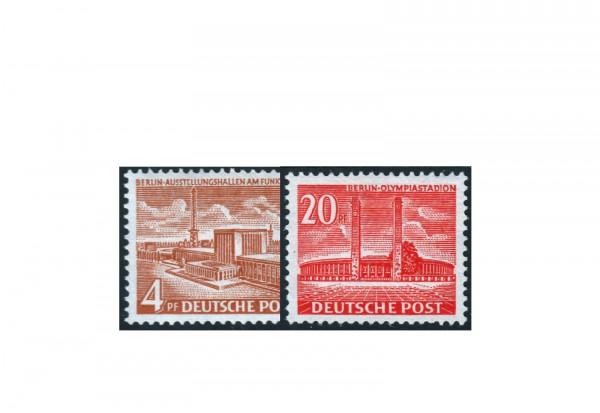 Berlin Frühausgaben Mi.Nr. 112/113 postfrisch