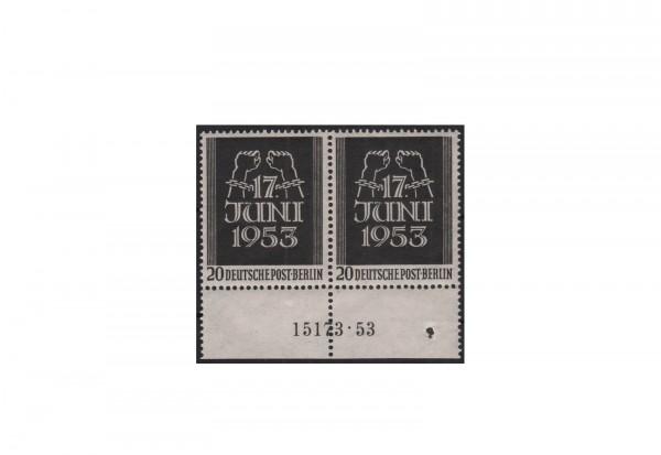 Berlin Michel-Nr. 111 postfrisch UR-Paar mit komplett HAN