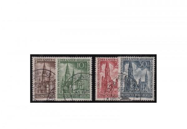 Berlin Frühausgaben Mi.Nr. 106/109 gestempelt