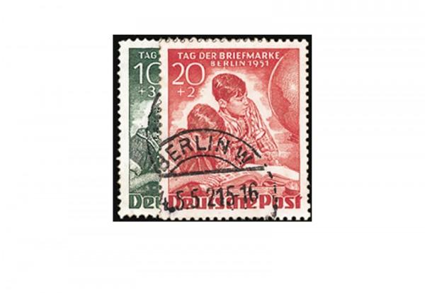 Berlin Frühausgaben Mi.Nr. 80/81 gestempelt