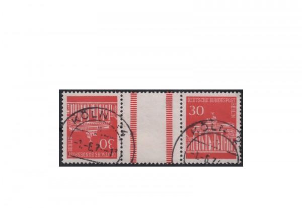 Berlin Michel-Nr. 288 I Kehrdruck-Zwischensteg gestempelt