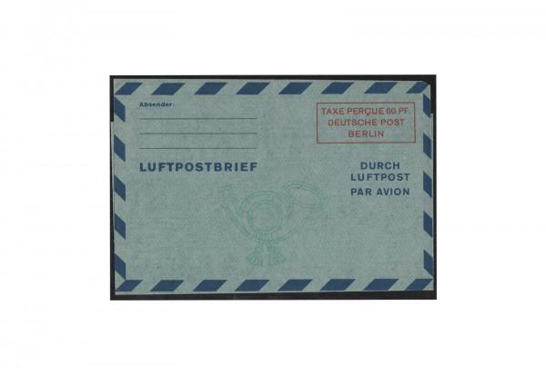 Berlin Luftpostfaltbrief Michel-Nr. 1 II ungebraucht