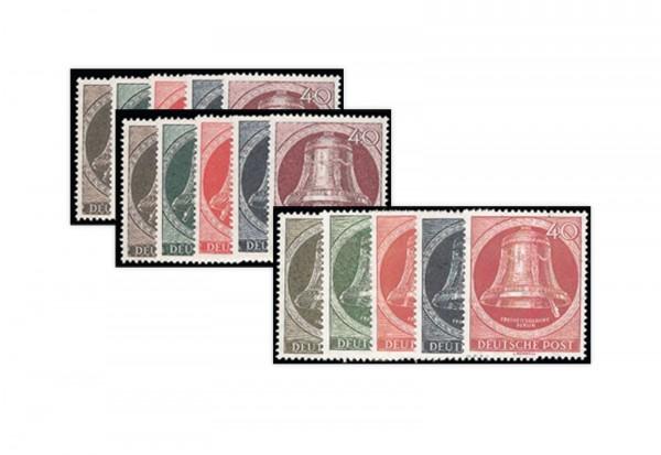 Berliner Glockensätze postfrisch Michel 75/9, 82/6 und 101/5