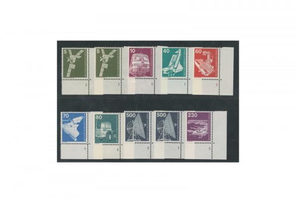 Briefmarke Berlin Industrie und Technik 1975-1982 Michel-Nr. 494/467 postfrisch FN