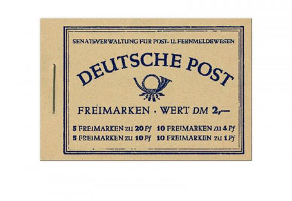 Berlin MH 2 1952 postfrisch