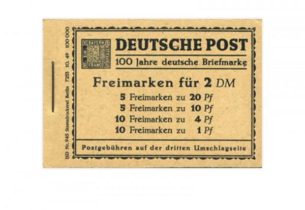 Berlin MH 1 1949 postfrisch