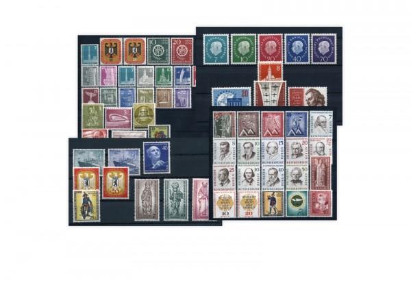 Berlin Jahrgänge Sparpaket 1955-1959 Michel-Nr. 126/190 komplett postfrisch