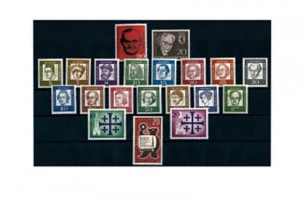 Berlin Jahrgang 1961 Mi.Nr. 197-217 postfrisch