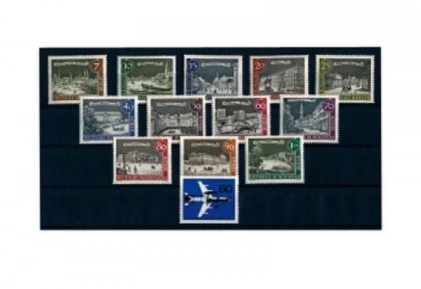 Briefmarken Berlin Jahrgang 1962 Michel-Nr. 218-230 postfrisch