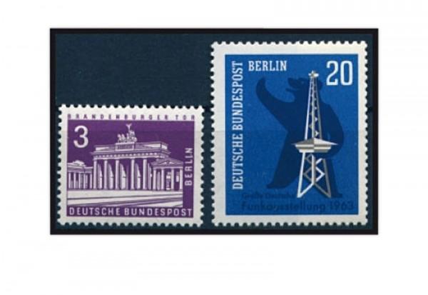 Berlin Jahrgang 1963 Mi.Nr. 231-232 postfrisch