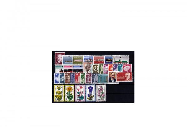 Berlin Jahrgang 1975 postfrisch 34 Marken Michel-Nr. 482/515
