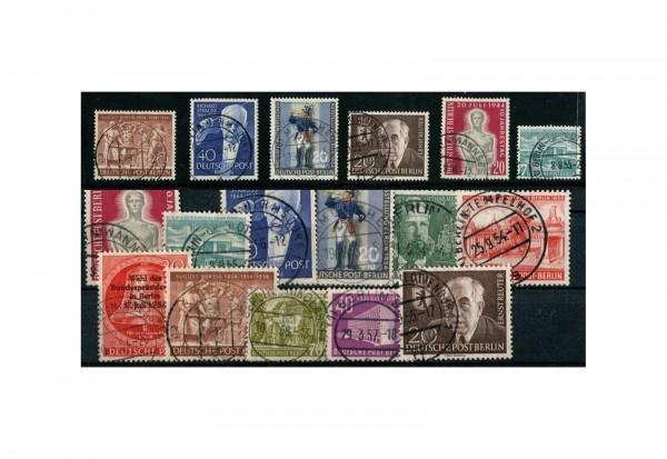 Berlin Jahrgang 1954 gest. MiNr.: 115-125