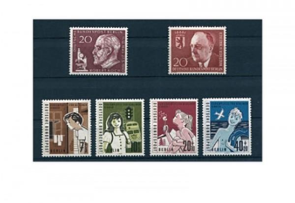Berlin Jahrgang 1960 Mi.Nr. 191-195 gestempelt