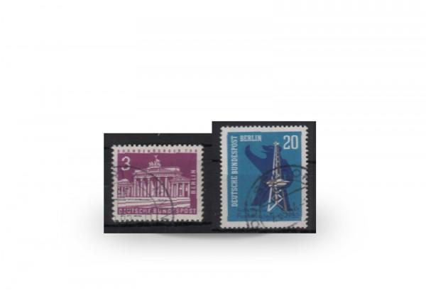 Berlin Jahrgang 1963 Mi.Nr. 231-232 gestempelt