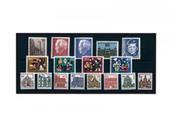 Berlin Jahrgang 1964 Mi.Nr. 233-249 gestempelt