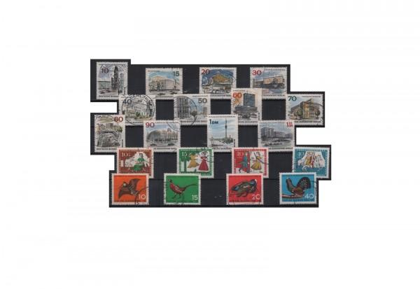 Berlin Jahrgang 1965 Mi.Nr. 250-269 gestempelt