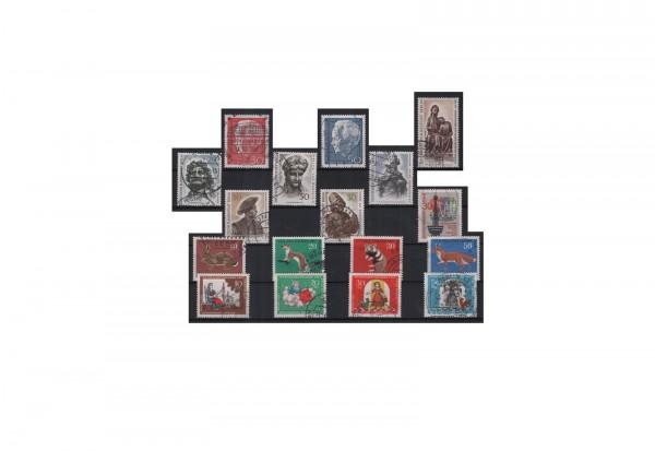 Berlin Jahrgang 1967 Mi.Nr. 299-315 gestempelt