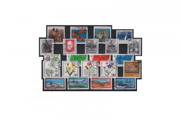 Berlin Jahrgang 1980 Mi.Nr. 614-636 gestempelt