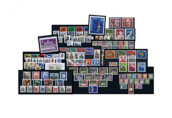 Berlin Jahrgänge 1960-1969 Sparpaket komplett Mi.Nr. 191-352 gestempelt