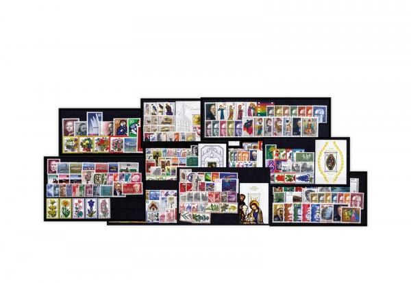 Berlin Jahrgänge 1970-1979 Sparpaket komplett Mi.Nr. 353-613 **