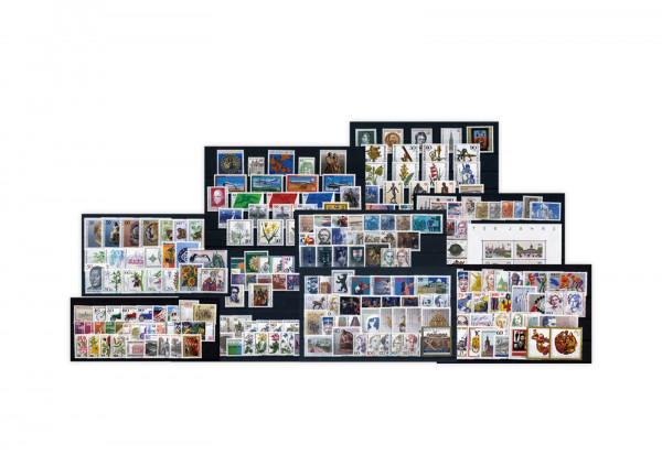 Berlin Jahrgänge 1980-1989 Sparpaket komplett Mi.Nr. 614-879 postfrisch