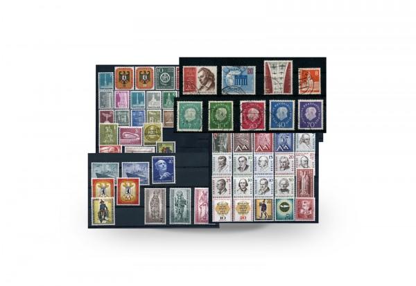 Berlin Jahrgänge 1955 bis 1959 gestempelt Michel Nr. 126/190 Komplett-Paket