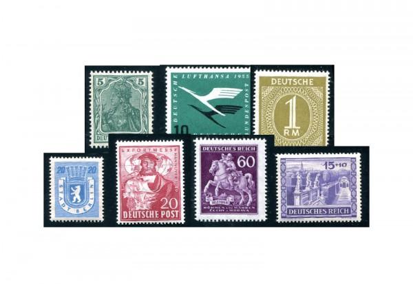 Deutschland Sondermarken 300 Marken postfrisch und gestempelt
