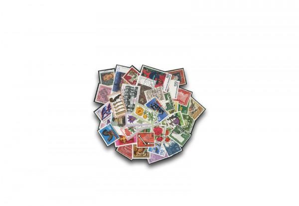 BRD Blockeinzelmarken 50 Marken postfrisch und gestempelt