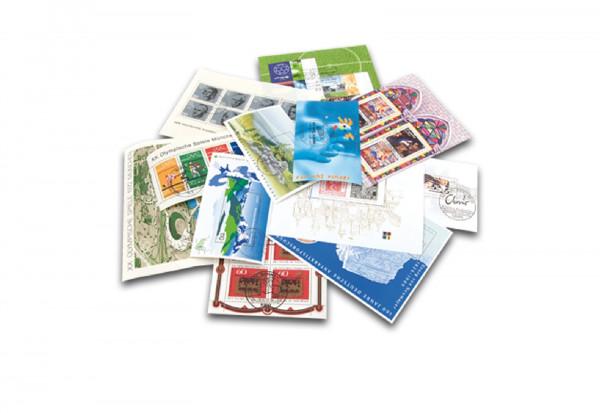 Briefmarken BRD Block-Lot Deluxe 50 verschiedenen Blocks und Kleinbögen