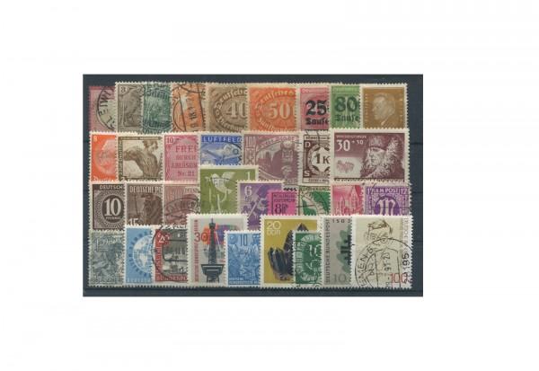 Briefmarken Deutschland Kollektion 300 verschiedene Marken 1872-2000