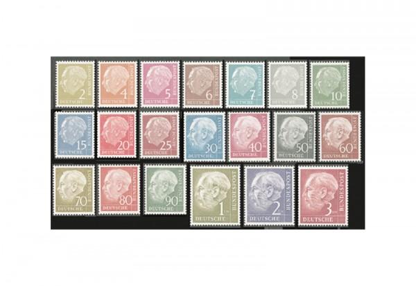 Briefmarken BRD Heuss I Michel-Nr. 177-196 postfrisch