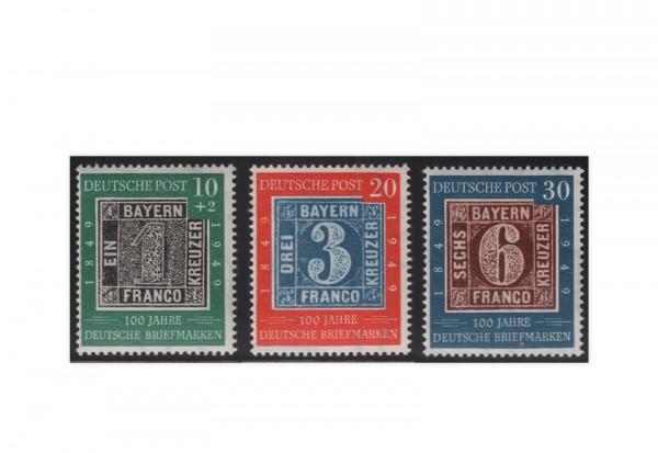 Briefmarken BRD Frühausgaben 1949 Michel-Nr. 113-115 postfrisch