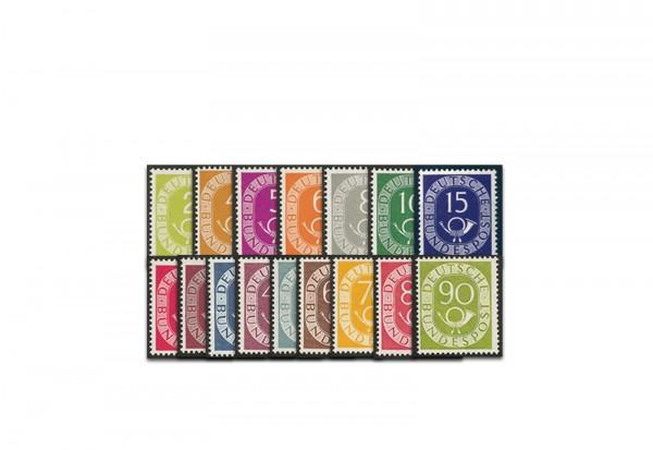 BRD Briefmarken Michel 123 / 138 postfrisch gp. BPP Luxus