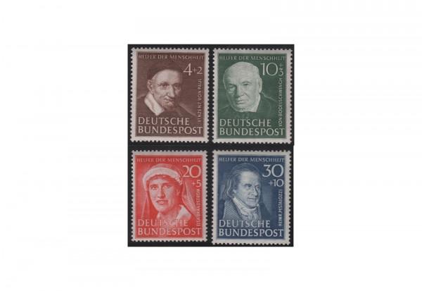 Briefmarken BRD Wohlfahrt 1951 Michel-Nr. 143-146 postfrisch