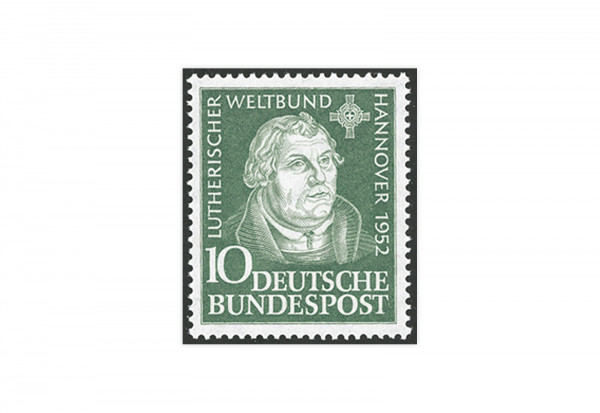 Briefmarke BRD Martin Luther 1952 Michel-Nr. 149 postfrisch