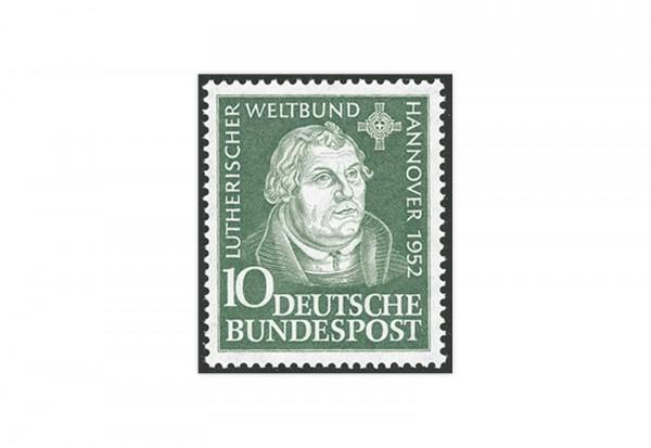 Briefmarke BRD Martin Luther 1952 Michel-Nr. 149 postfrisch