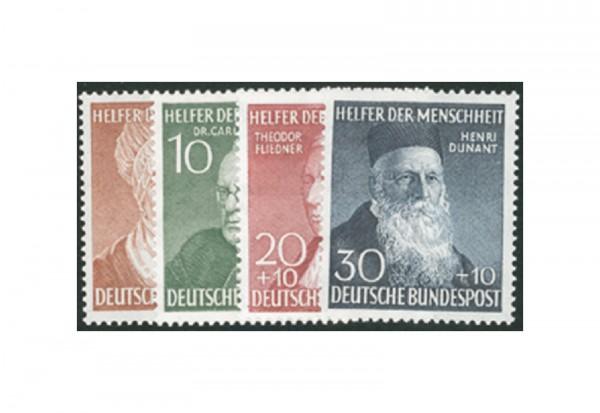Briefmarken BRD Wohlfahrt 1952 Michel-Nr. 156-159 postfrisch