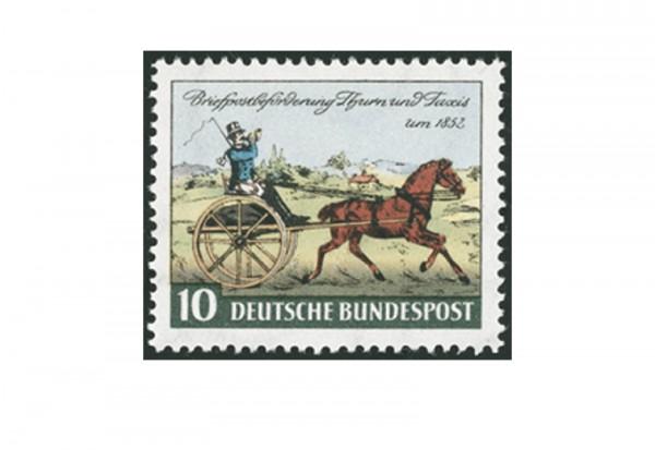 Briefmarke BRD 100 Jahre Thurn und Taxis 1952 Michel-Nr. 160 postfrisch