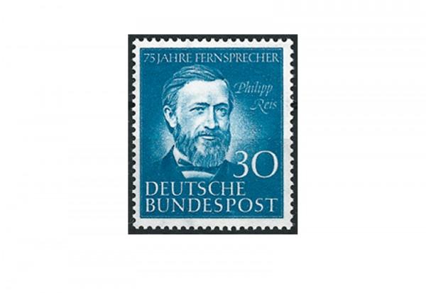 Briefmarke BRD 75 Jahre Fernsprecher Philipp Reis 1952 Michel-Nr. 161 postfrisch