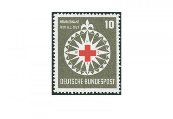 Briefmarke BRD Henri Dunant 1953 Michel-Nr. 164 postfrisch
