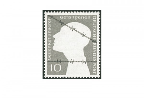 Briefmarke BRD Kriegsgefangene 1953 Michel-Nr. 165 postfrisch
