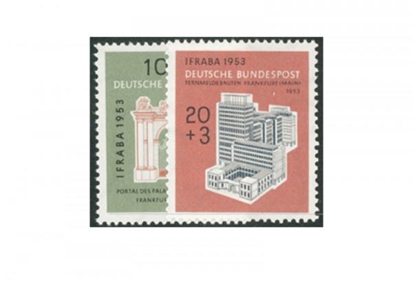 Briefmarken BRD IFRABA 1953 Michel-Nr. 171-172 postfrisch