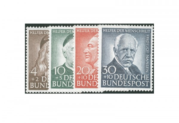 Briefmarken BRD Wohlfahrt 1953 Michel-Nr. 173-176 postfrisch