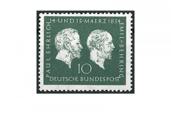 Briefmarke BRD Ehrlich/Behring 1954 Michel-Nr. 197 postfrisch