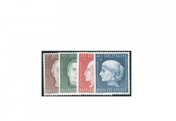 Briefmarken BRD Wohlfahrt 1954 Michel-Nr. 200-203 postfrisch