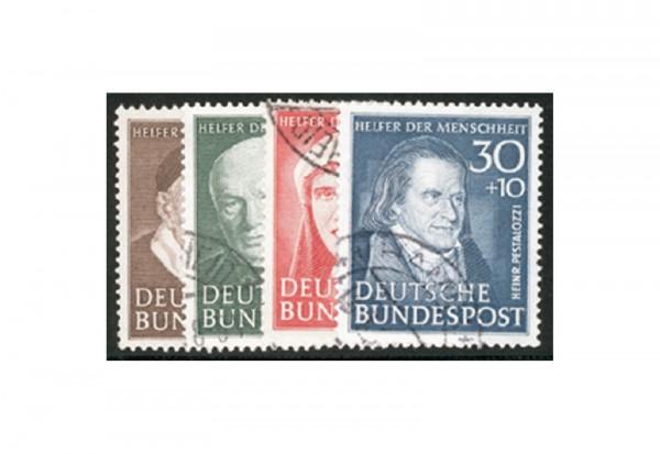 Briefmarken BRD Wohlfahrt 1951 Michel-Nr. 143-146 gestempelt
