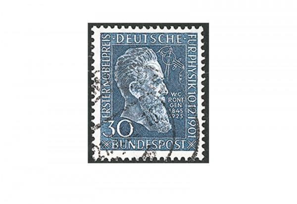 Briefmarke BRD Röntgen 1951 Michel-Nr. 147 gestempelt
